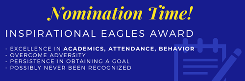 Leyden Inspirational Eagle Award