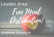Free Meal Distribution Summer Schedule